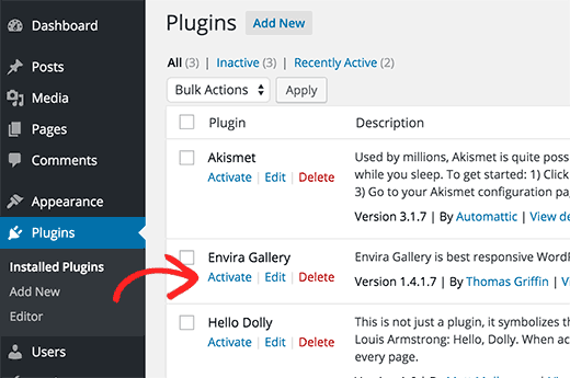 Removal of unnecessary plugins
