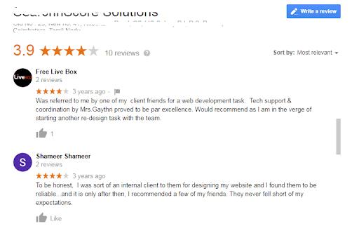 Optimize - Reviews